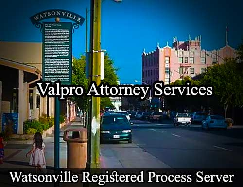 Watsonville Registered Process Server