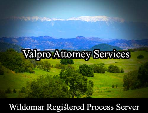 Wildomar Registered Process Server