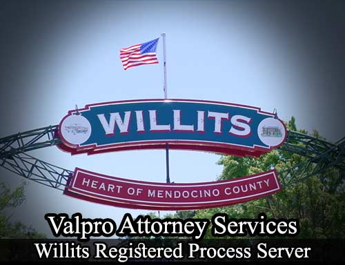Willits Registered Process Server