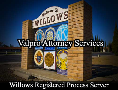 Willows Registered Process Server