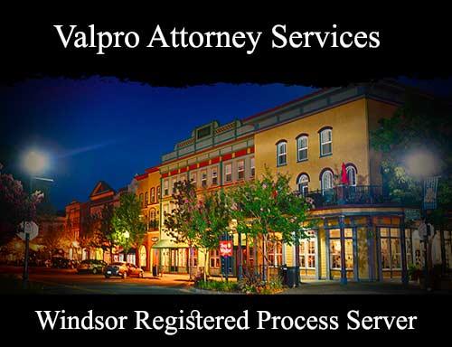 Windsor Registered Process Server