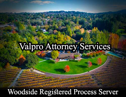 Woodside Registered Process Server