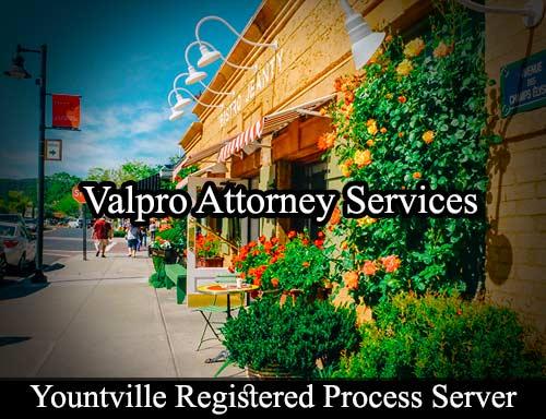 Yountville Registered Process Server