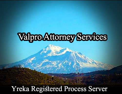 Yreka Registered Process Server