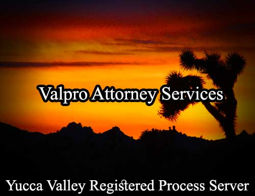 Yucca Valley Registered Process Server