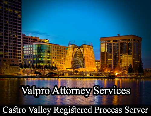 Castro Valley Registered Process Server