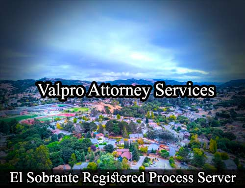 El Sobranto Registered Process Server