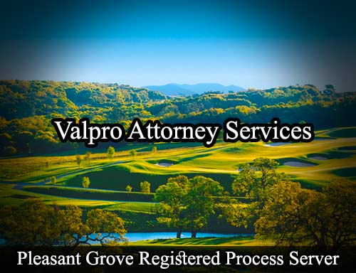 Pleasant Grove Registered Process Server