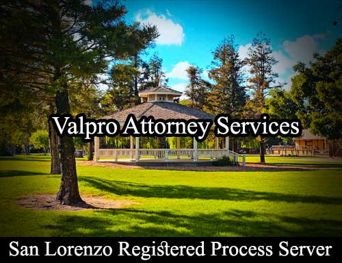 San Lorenzo Registered Process Server