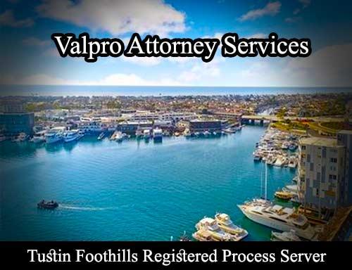 Tustin Foothills Registered Process Server