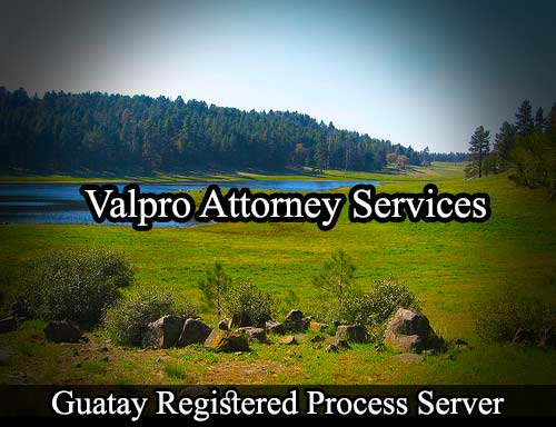 Guatay California Registered Process Server