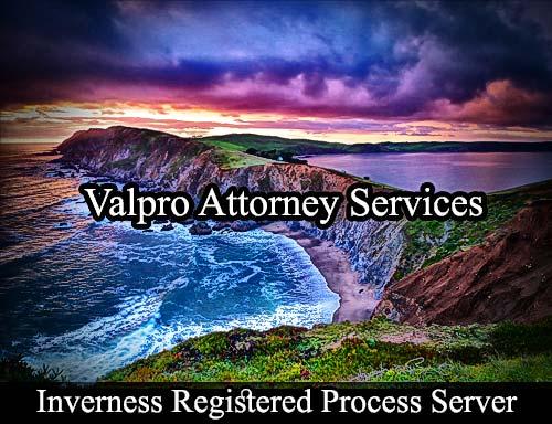 Inverness California Registered Process Server