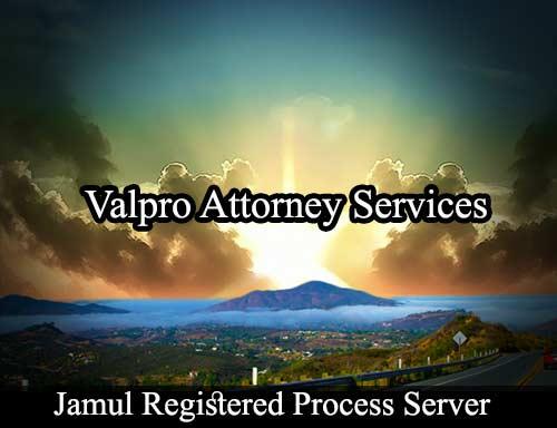 Jamul California Registered Process Server