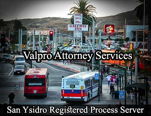 San Ysidro California Registered Process Server