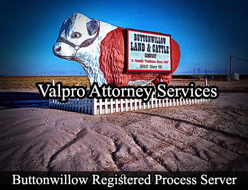 Buttonwillow California Registered Process Server