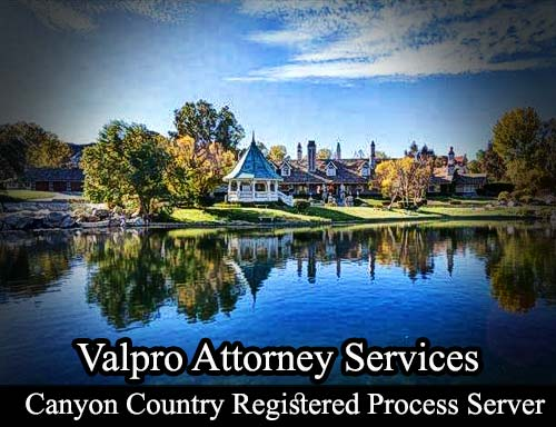 Canyon Country California Registered Process Server