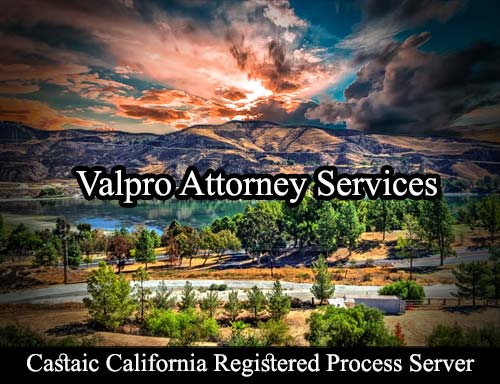 Castaic California Registered Process Server
