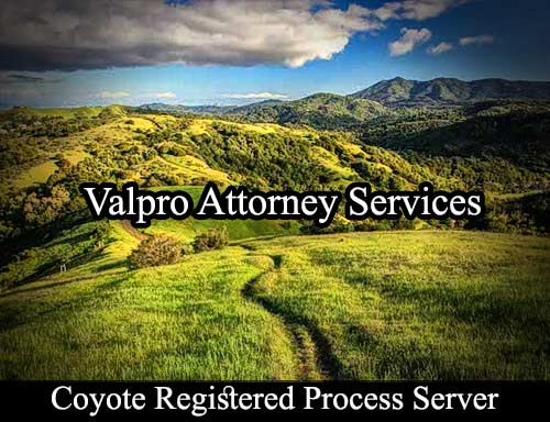 Coyote California Registered Process Server