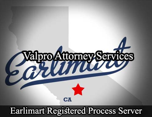 Earlimart California Registered Process Server