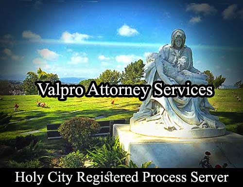 Holy City California Registered Process Server