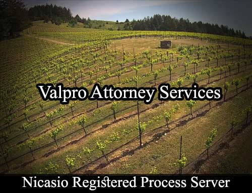 Nicasio California Registered Process Server