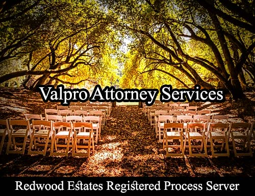 Redwood Estates California Registered Process Server