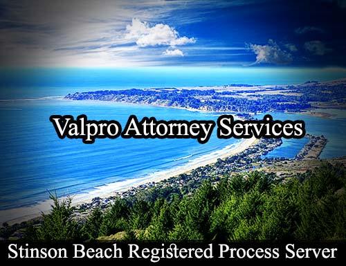 Stinson Beach California Registered Process Server