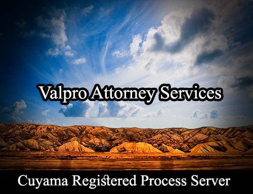 Cuyama California Registered Process Server