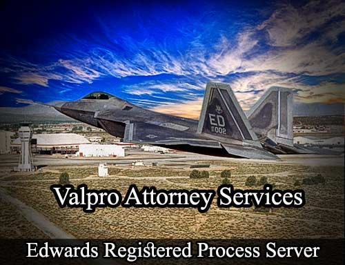 Edwards California Registered Process Server