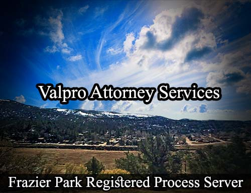 Frazier Park California Registered Process Server