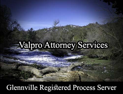 Glennville California Registered Process Server