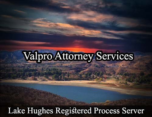 Lake Hughes California Registered Process Server