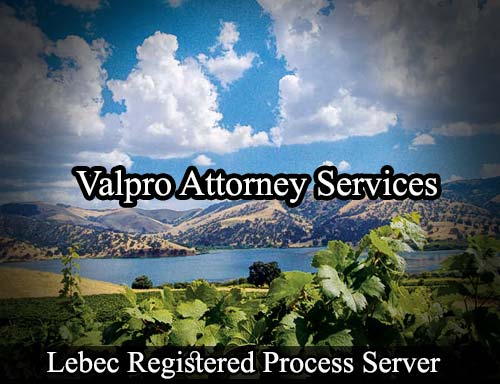 Lebec California Registered Process Server