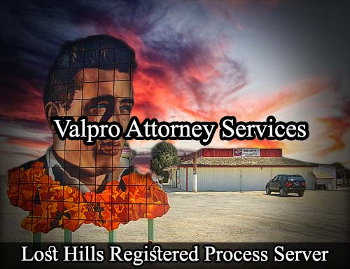 Lost Hills California Registered Process Server