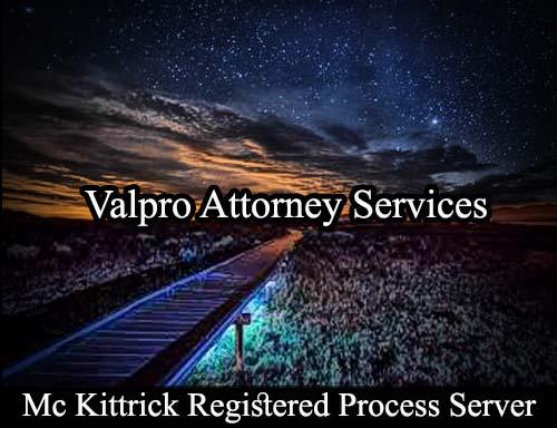 Mc Kittrick California Registered Process Server