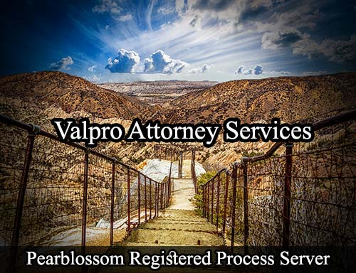 Pearblossom California Registered Process Server