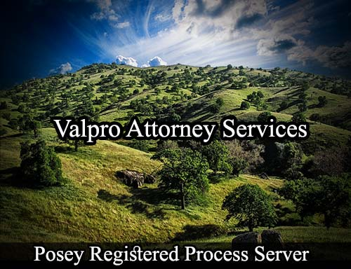 Posey California Registered Process Server