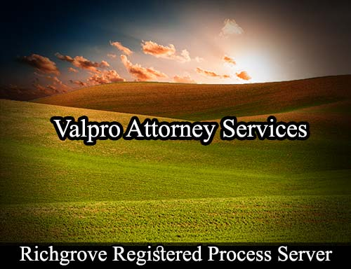Richgrove California Registered Process Server