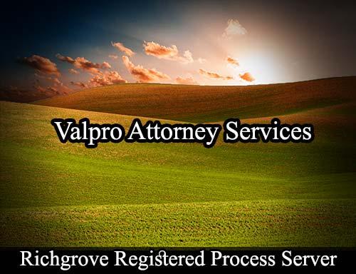 Richgrove California Registered Process Server