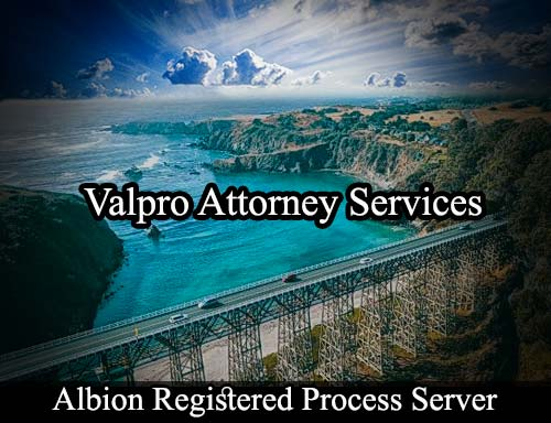 Albion California Registered Process Server