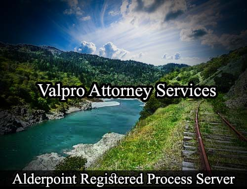 Alderpoint California Registered Process Server