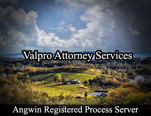 Angwin California Registered Process Server