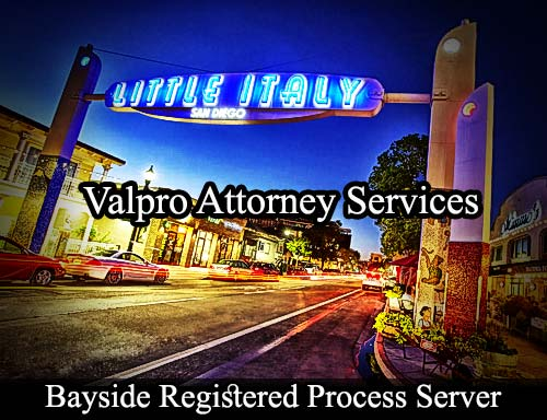 Bayside California Registered Process Server