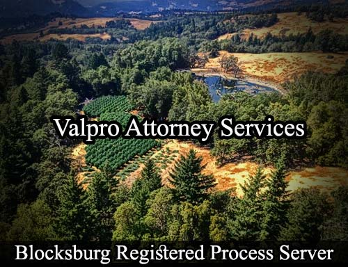 Blocksburg California Registered Process Server