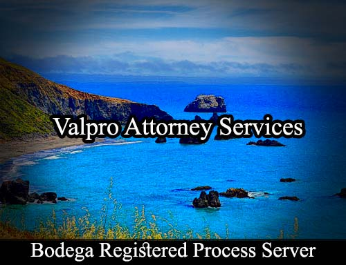 Bodega California Registered Process Server