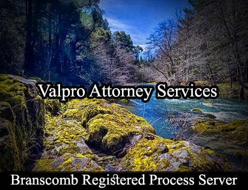 Branscomb California Registered Process Server