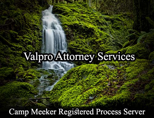 Camp Meeker California Registered Process Server