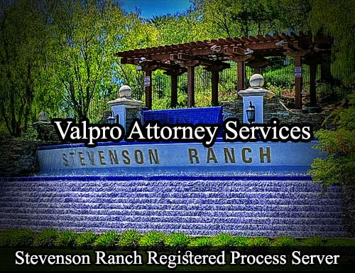 Stevenson Ranch California Registered Process Server