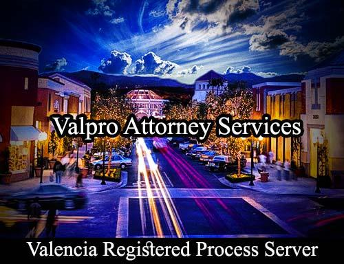 Valencia California Registered Process Server