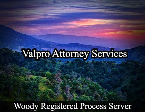 Woody California Registered Process Server